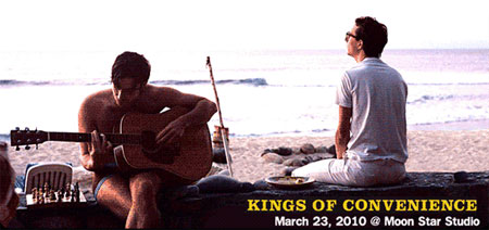 Kings of Convenience Live in Bangkok