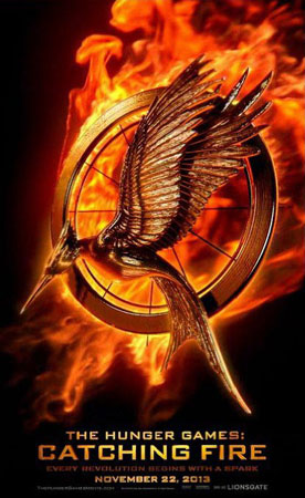 The Hunger Games: Catching Fire - Logo Poster 1