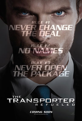 The Transporter Refueled Poster 2