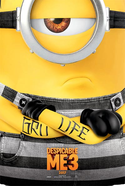 Despicable Me 3's Poster