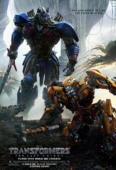 Transformers: The Last Knight's Poster