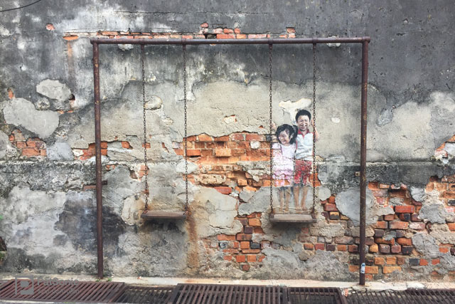 Street Art in George Town, Penang