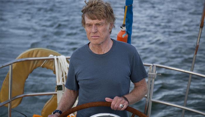 Robert Redford ในทริลเลอร์กลางน่านน้ำ 'All Is Lost'