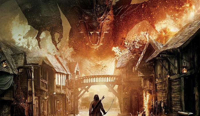 ภาพจากหนังเเละโปสเตอร์เเรกของ The Hobbit: The Battle of the Five Armies